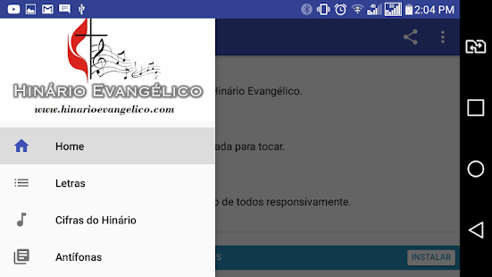 Hinário Evangélico Metodista - náhled