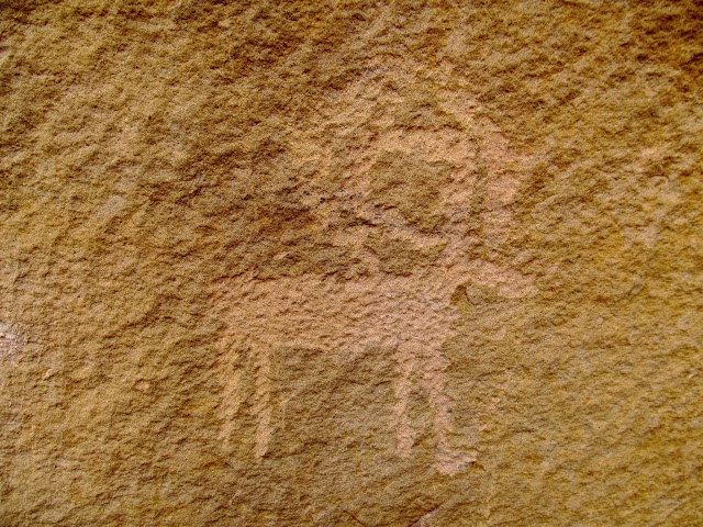 Petroglyph off UT-12