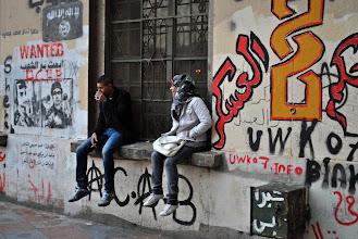 Photo: More anti-regime graffiti.