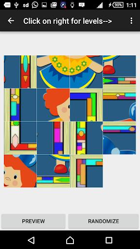 Slide Puzzle Doll