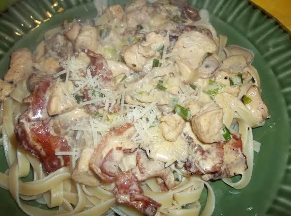 Chicken Fettuccine Alfredo Recipe