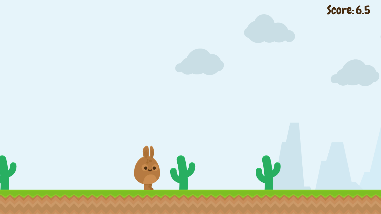 Run Bunny, Run!- screenshot