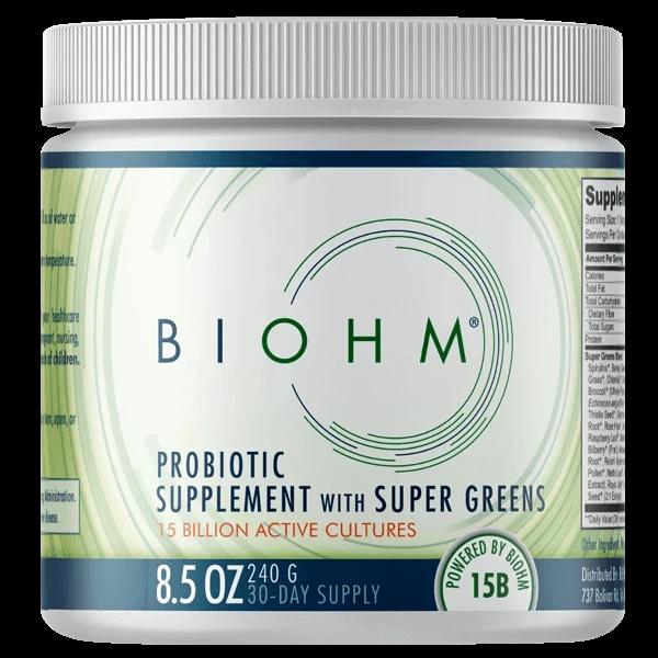 БИОХМ пробиотическая добавка с супер зеленью