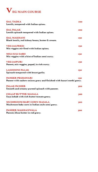 Harmony Bistro menu 11