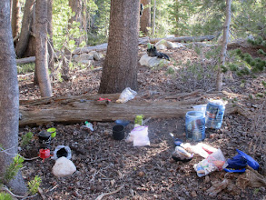 Photo: Camp near Cascade Valley junction