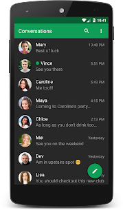 chomp SMS Mod Apk (Pro Features Unlock) 2