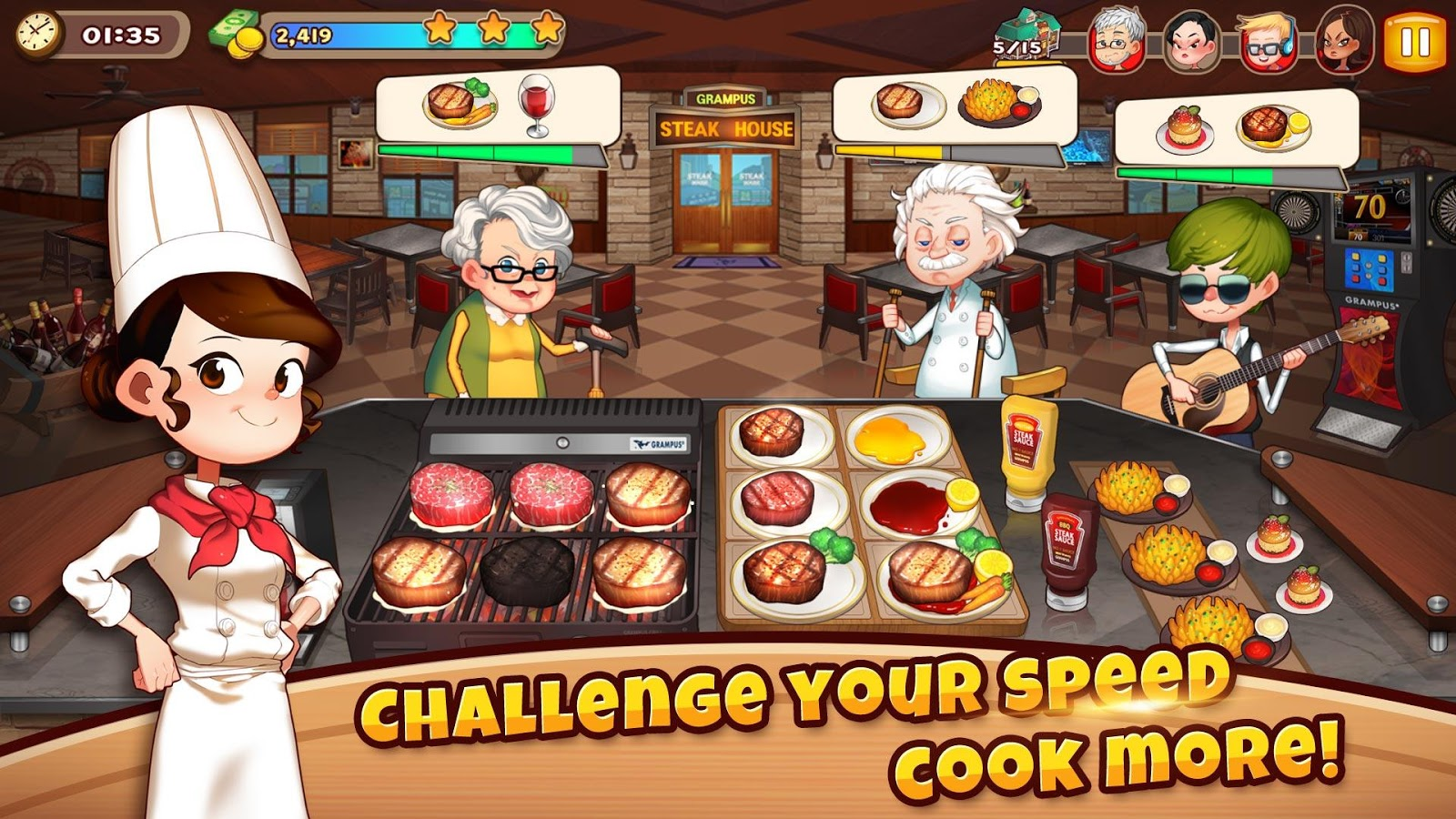 Cooking Adventure™- screenshot