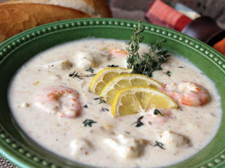 Crab And Shrimp Soup Recipe