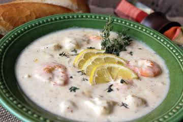 Crab and Shrimp Soup