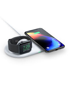 ALOGIC Rapid Wireless Charging Dock for Apple Watch & iPhone