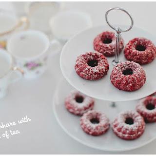 Mini Red Velvet Bundt Cakes Recipe