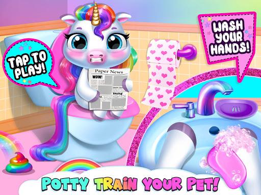 My Baby Unicorn - Cute Rainbow Pet Care & Dress Up 1.0.33 screenshots 9
