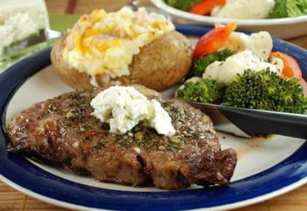 Herb Crusted Beef Steaks Recipe
