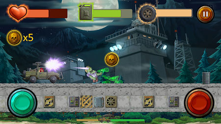 Guns And Wheels Zombie (Full) APK screenshot thumbnail 2