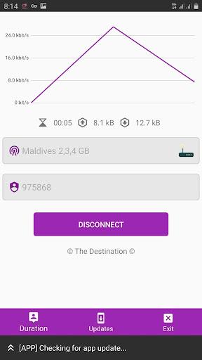 The Destination VPN 10.7 screenshots 2