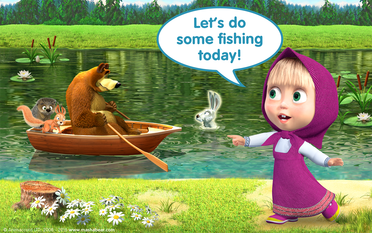 Masha and the Bear Child Games- screenshot