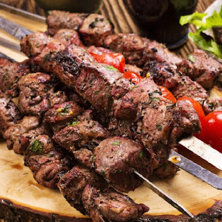 Oven Cooked Lamb Kebabs