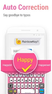 RainbowKey | Farbe Tastatur Screenshot