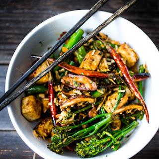 Broccolini Mushroom Stir Fry Recipe