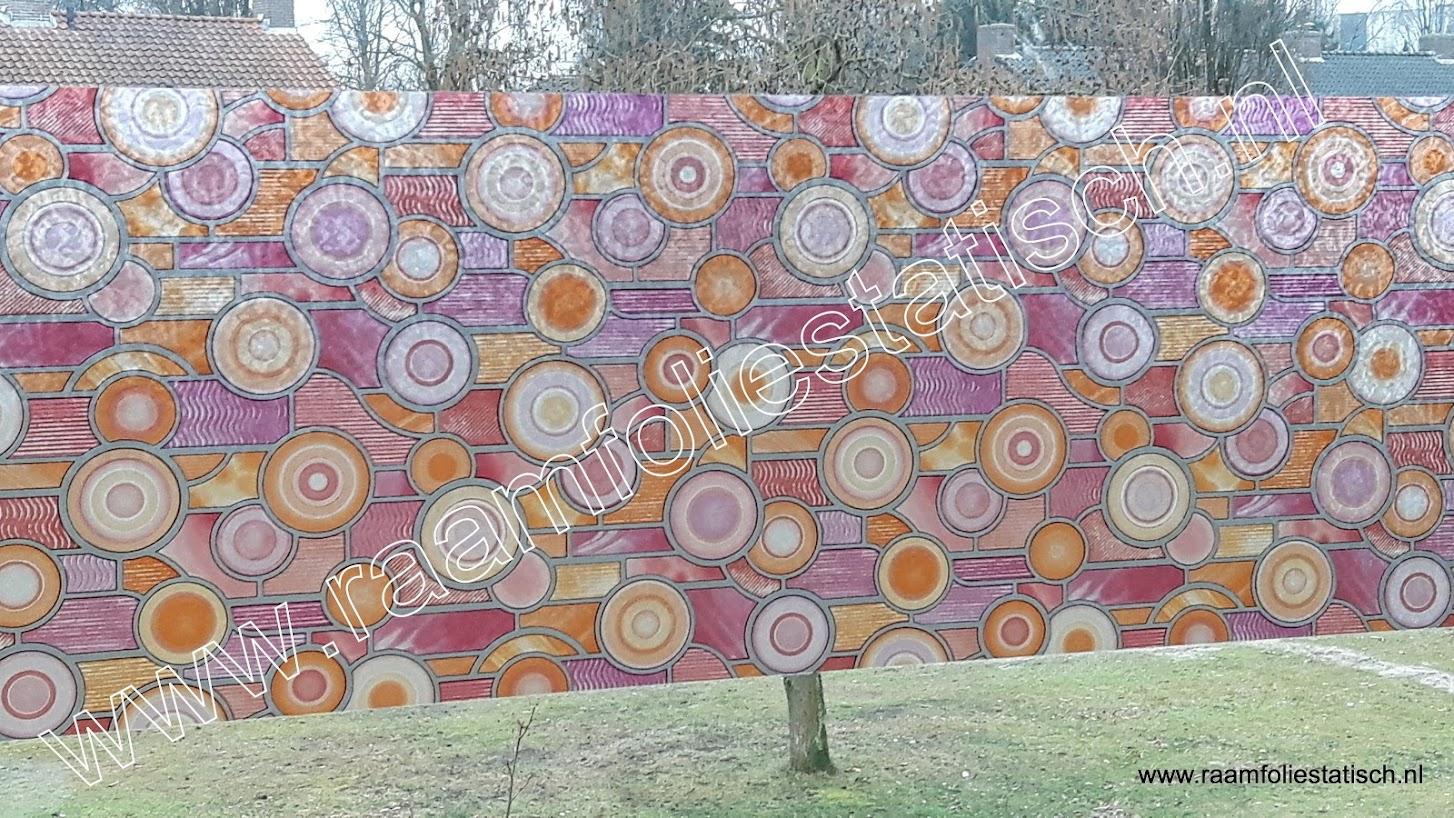 Raamfolie target 45cm gekkofix raamfoliestatisch for Plakfolie decoratie