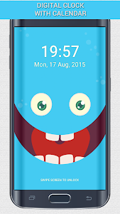 PokeMonster Go Pin Lock Screen screenshot 1