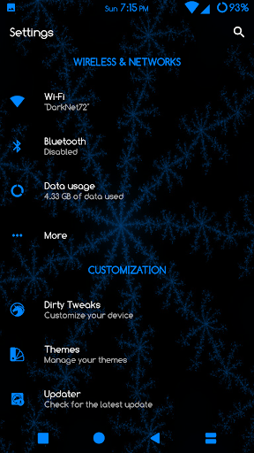 Sprite Substratum Theme Android N and O  screenshots 8