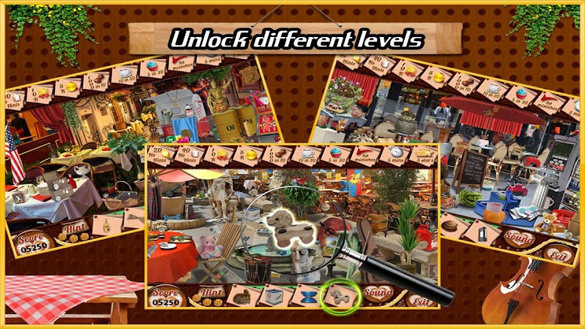 android Restaurant Find Hidden Object Screenshot 1