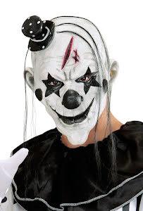 Mask, killer clown pierrot
