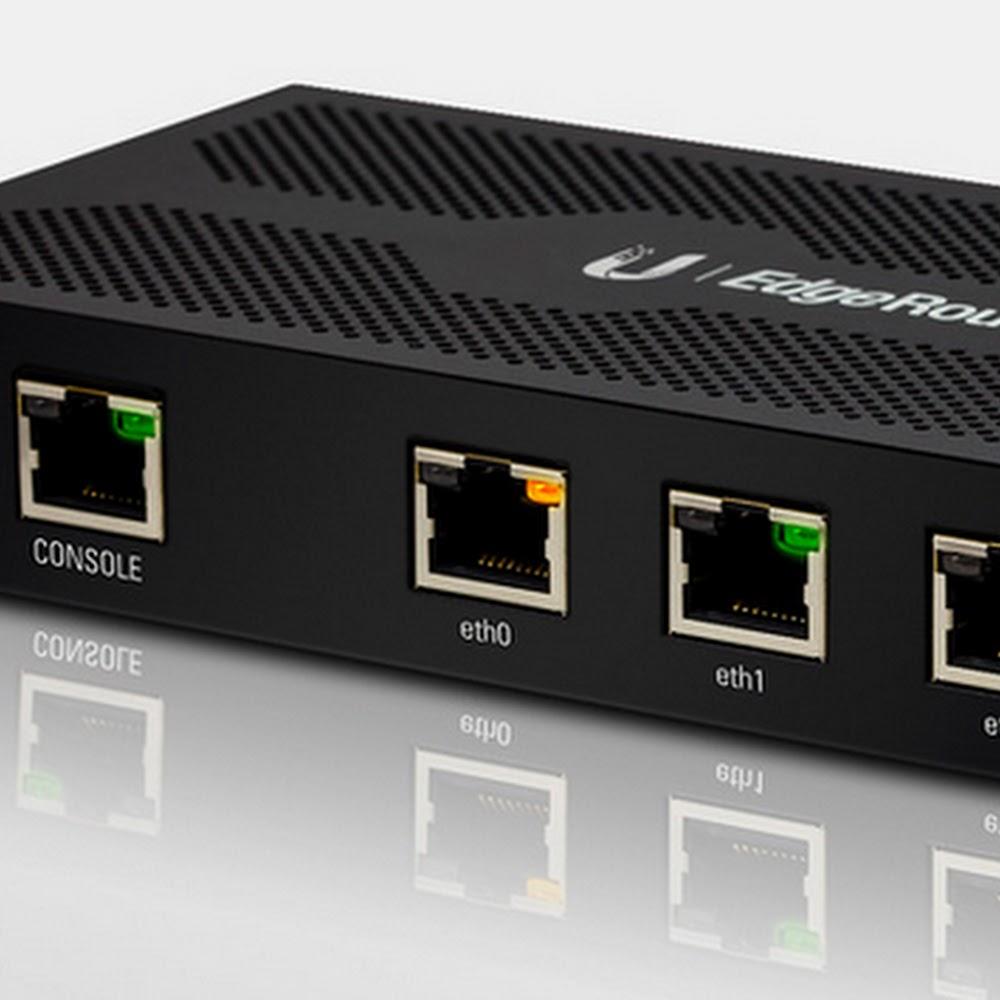 Ubiquti UBNT Edge Router 3 Port