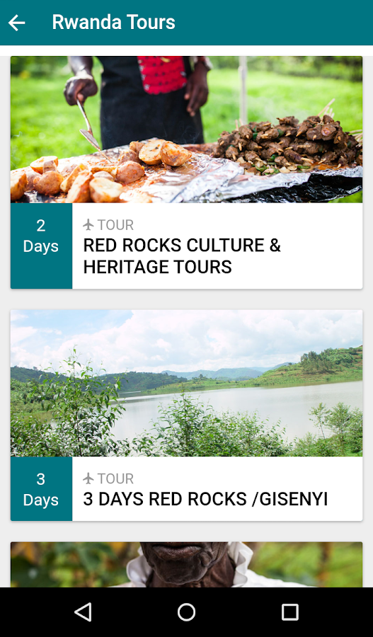 Amahoro Tours- screenshot