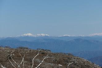左から能郷白山・荒島岳・大長山・赤兎山・屏風山など