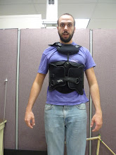 Photo: Back brace donated by Pacific Medical.