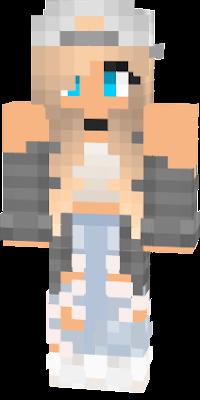 Minecraft Pe Skins Girl Tomboy Crafting