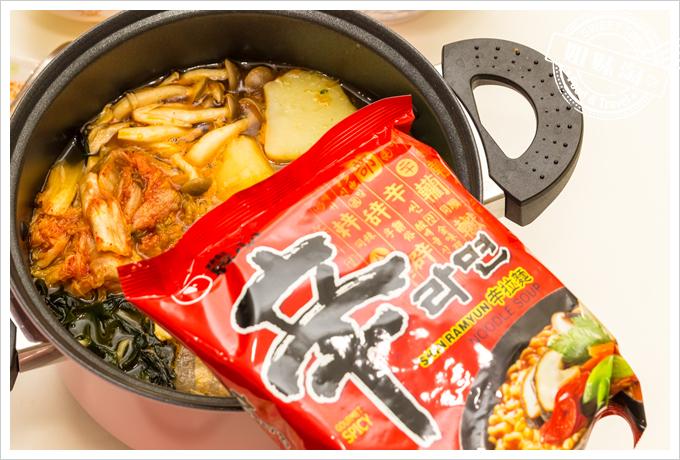 大頭韓式泡菜辛拉麵
