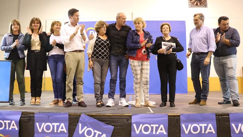 Acto de inicio de campaña del PP de El Ejido celebrado en San Agustín.