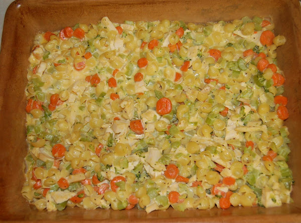 Turkey Vegetable Casserole Recipe