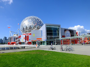 Photo: Science World building from the 1986 World Expo.