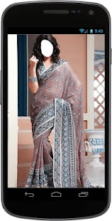 Saree Selfie Photo Suit - náhled