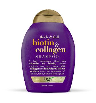 Shampoo Ogx Thick Biotin   & Collagen X385Ml.