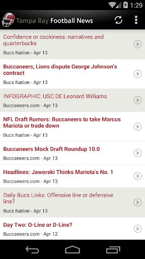 Tampa Bay Football News