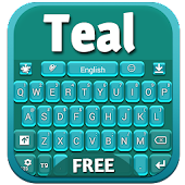 Teal GO Keyboard