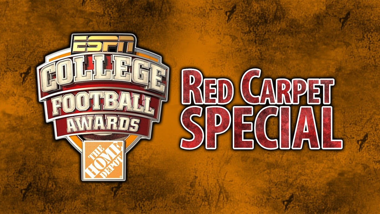 Watch College Football Awards Red Carpet Special live
