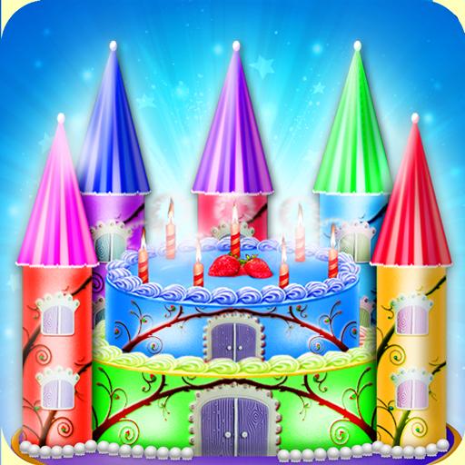 DIY Princess Castle Cake Maker - Kids Cooking Game