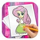 How To Draw Equestria Girls icon