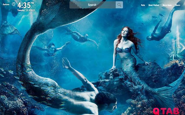 Mermaid New Tab Mermaid Wallpapers