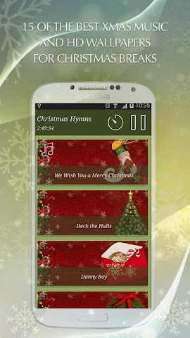 android Christmas Hymns Holiday Themes Screenshot 5