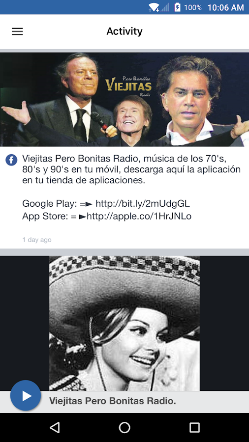 Viejitas Pero Bonitas Radio.- screenshot