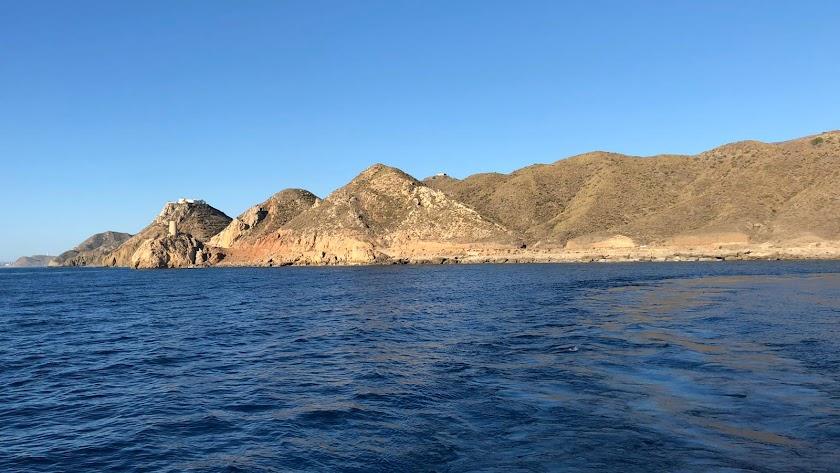El litoral de Carboneras ha sido la primera zona de estudio.