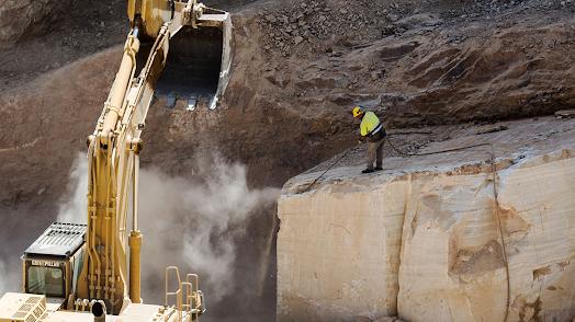Las ventas de piedra almeriense se han cuadruplicado en la última década. Turismo Macael