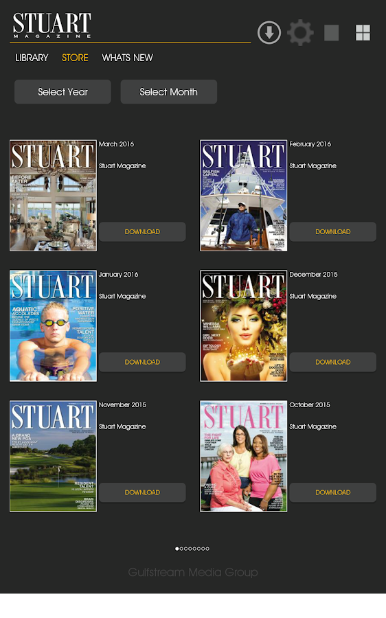 Stuart Magazine- screenshot